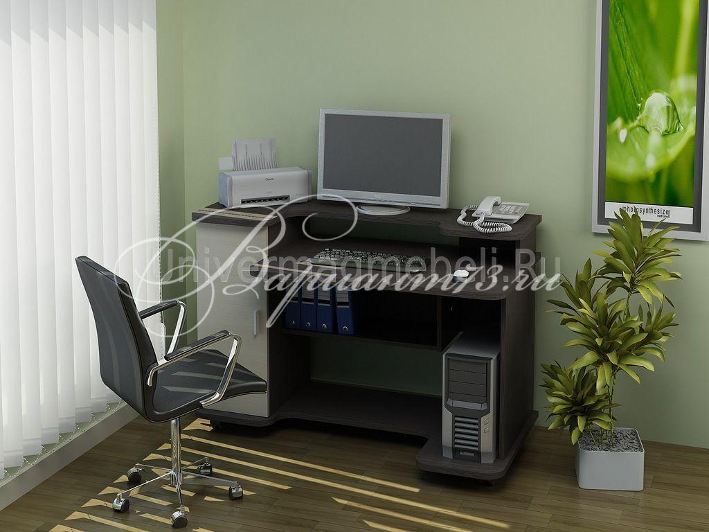 """Компьютерные столы на индивидуальный заказ """" жилая недвижимо."""