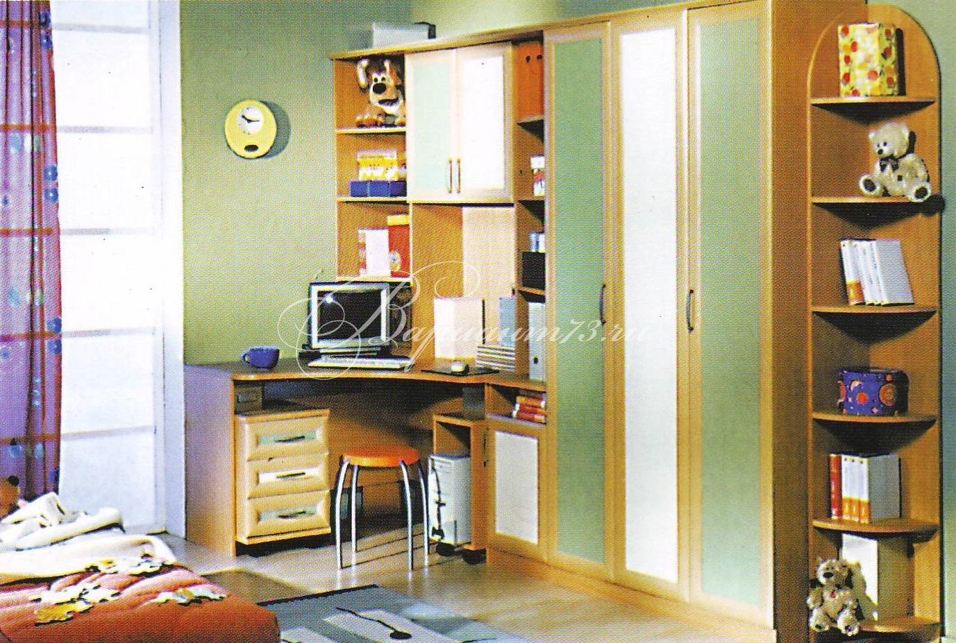 """Детская комната """"парус-2"""" мебель на заказ."""